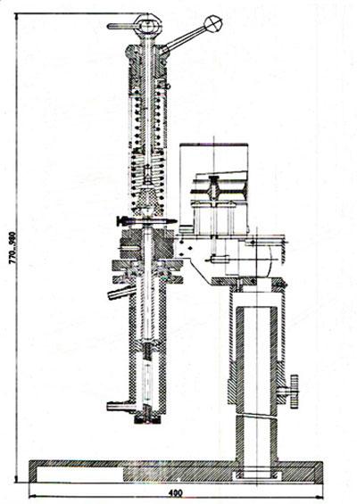 габариты вискозиметра