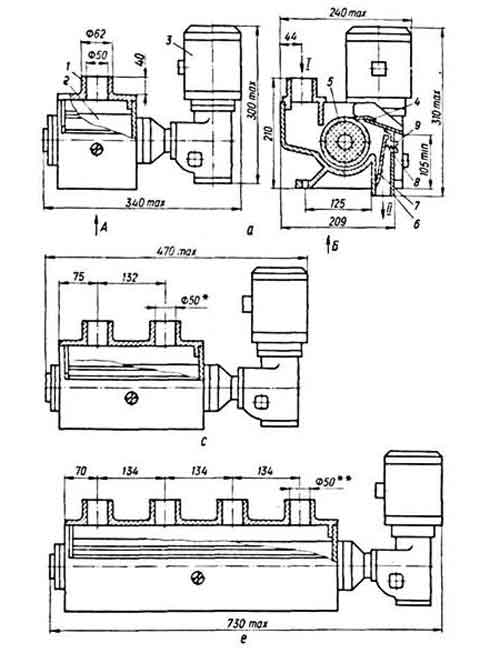 Схема магнитного сепаратора