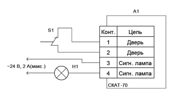 Схема подключения цепей