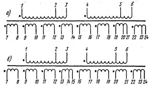 Схема трансформатора ТАН