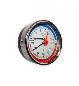 Фото Термоманометры (осевые) МТ-80ТМ-О