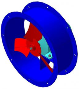Вентиляторы осевые низкого давления ВО 06-300 (ВО 12-330)  фото 1