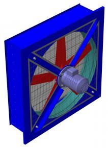 Вентиляторы осевые ВО 10-360  фото 1