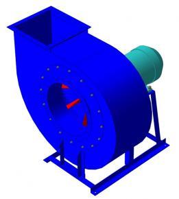 Вентиляторы пылевые радиальные ВЦП 6-46 (120-46)  фото 1