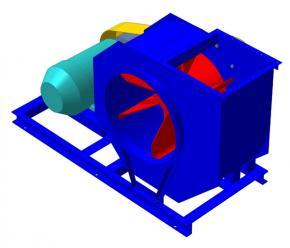 Вентиляторы пылевые среднего давления ВЦП 7-40 (140-40)  фото 1