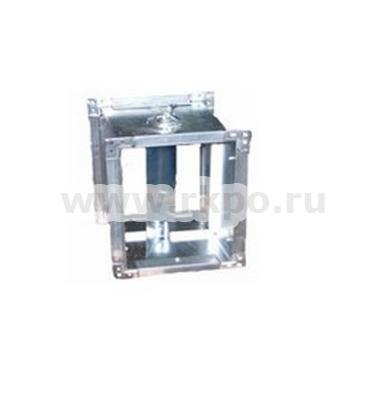 Дроссель клапан для прямоугольного канала фото 1