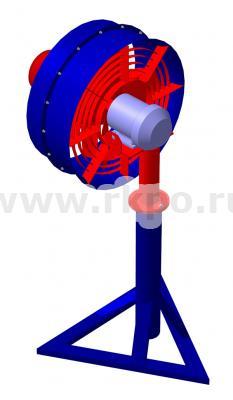 Вентилятор осевой направленного потока ВОНП-32А  фото 1