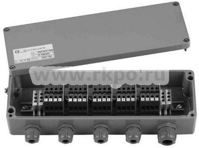 Взрывобезопасная клеммная коробка-сумматор KAEX-4 фото 1