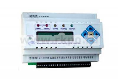Фото контроллера заряда аккумуляторов КЗА1