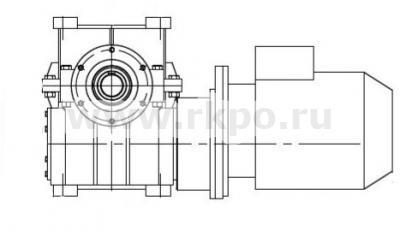 Мотор-редуктор МЦЧ-200 фото 1