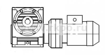 Мотор-редуктор МПЧ-125 фото 1
