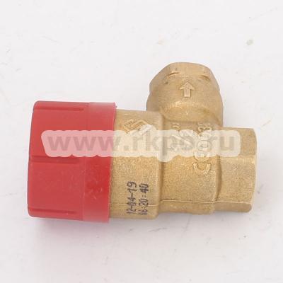Prescor клапан 3 bar 1-2 резьбовой - фото №1