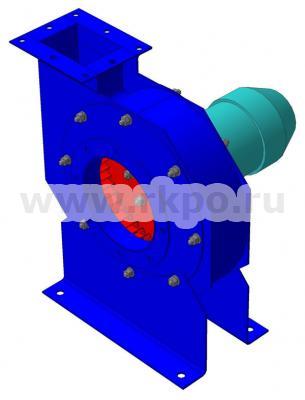 Вентиляторы радиальные высокого давления ВЦ 10-28  фото 1